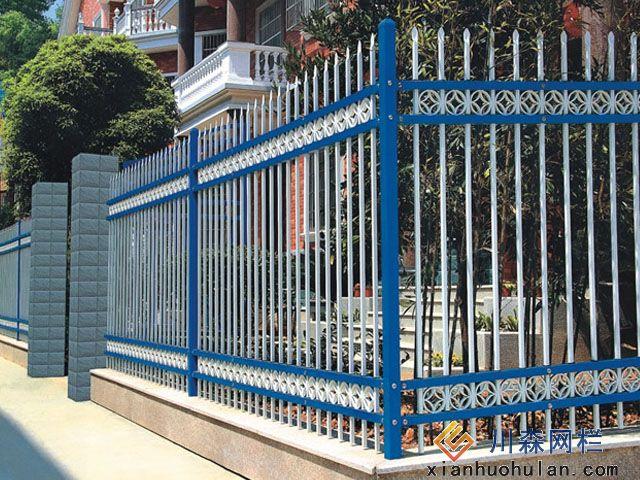 金属锌钢护栏图片欣赏