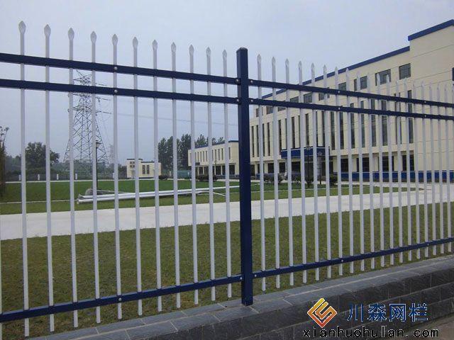 乡村公路锌钢护栏安装方案
