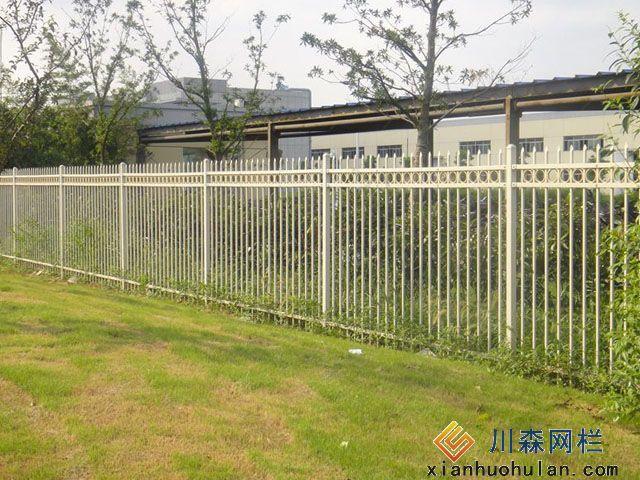 煤场锌钢护栏安装施工方案