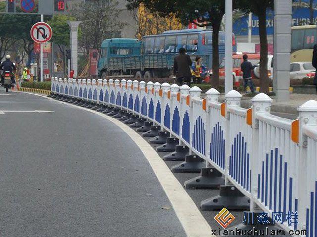 车行道锌钢护栏施工厂家