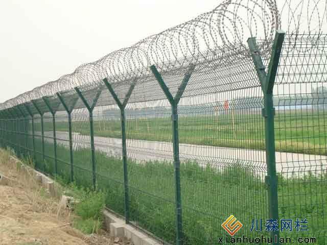 双边丝锌钢护栏可以用膨胀螺丝固定吗