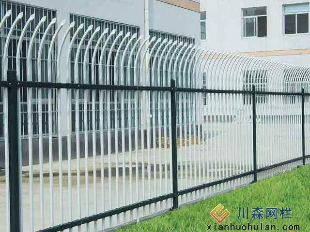 高铁金属锌钢护栏价格表