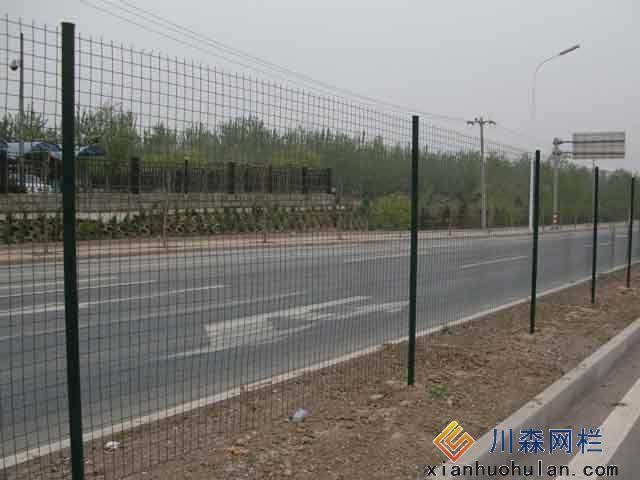 高层锌钢护栏安装方法