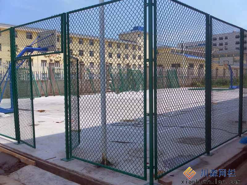 篮球场护栏网实例展示