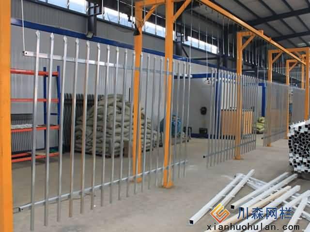 【图】图解锌钢护栏生成流程