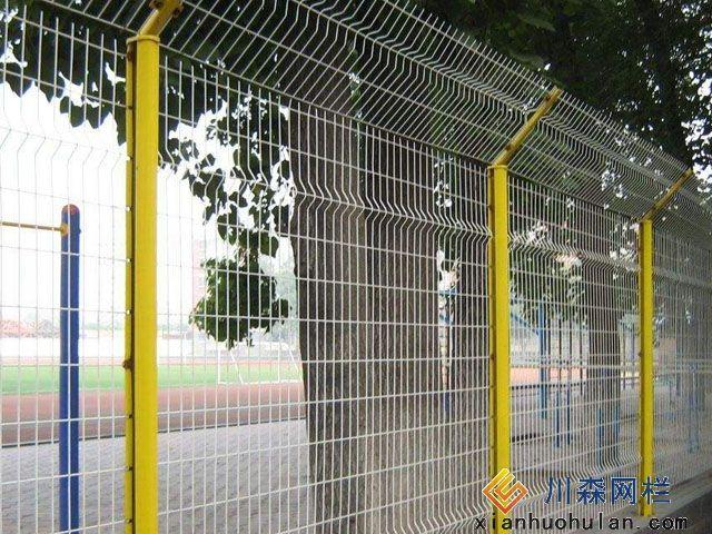 飞机场锌钢护栏安装示意图