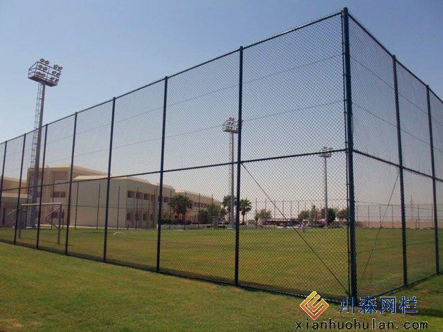 双边丝锌钢护栏安装办法